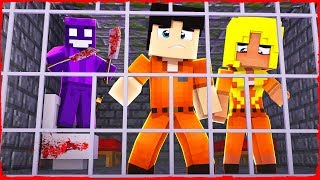Minecraft - FNAF Prison - How to Escape PURPLE GUY JAIL!