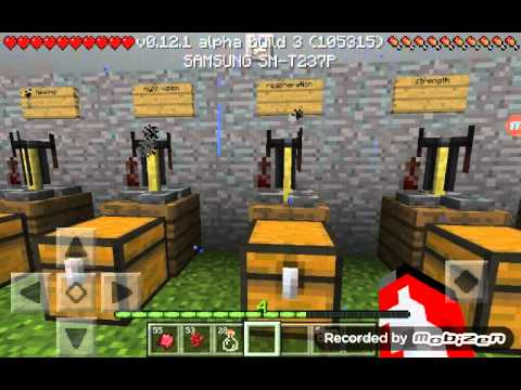 Minecraft pe 0.12.0 how to make all the potions