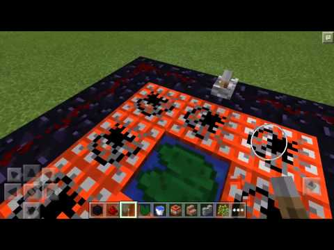 How to make a Working Trampoline Minecraft