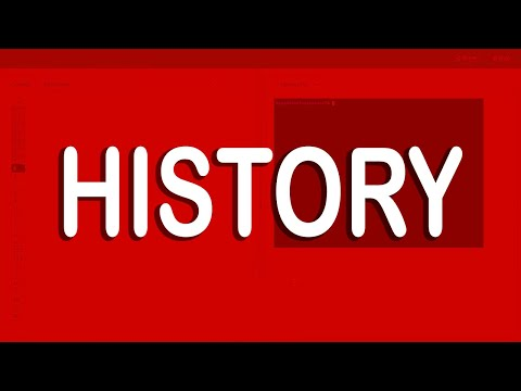 How to delete terminal history | history