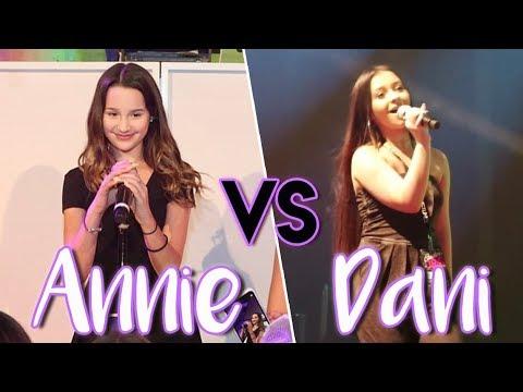 Annie LeBlanc VS Danielle Cohn SINGING BATTLE!
