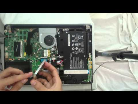 Upgrade ASUS Transformer Book Flip RAM, SSD and Hard drive TP500LA - TP500LN
