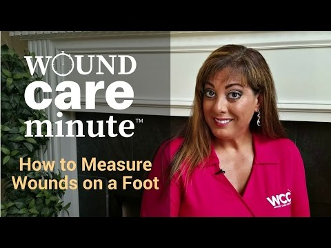 How to Measure Wounds on a Foot