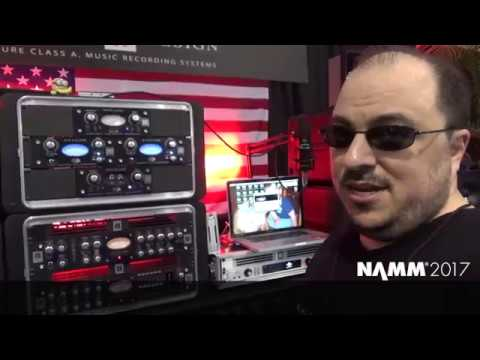 NAMM 2017 PRODUCT REVIEW : AVALON - HALF RACK SERIES