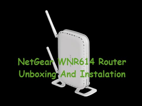 NetGear WNR614 N300 wireless Router Full Unboxing and Step by Step Instaletion Part 2
