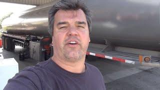 Going inside a petroleum tanker
