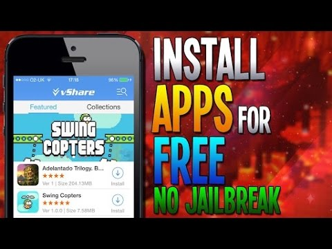 How to download and install vshare in unjailbroken iPhone
