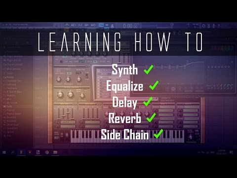 Basic Guide for Adding Mixer Effects to Synths | FL Studio Tutorial