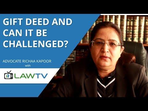 Indian Kanoon - How to make a gift deed - गिफ्ट डीड कैसे कैसी बनायी जाती है - LawRato