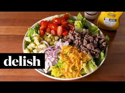 Big Mac Cheeseburger Salad | Delish