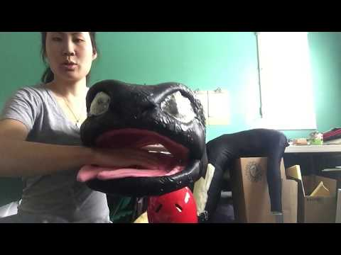 HTTYD Toothless Costume - explaining the head