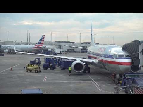 American Airlines Boeing 737-800 / Charlotte to New York JFK / 4K VIDEO !