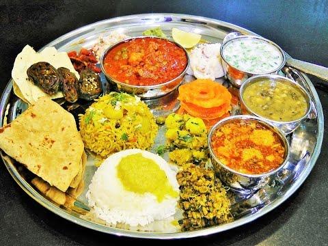 ताट कसे वाढावे    How to serve the Meal? Full authentic Maharashtrian Menu   madhurasRecipe