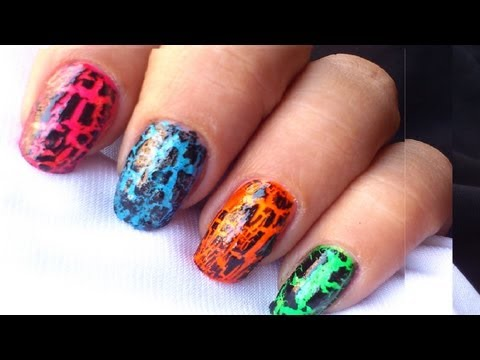 How to Use Crackle Nail Polish? : Tutorial