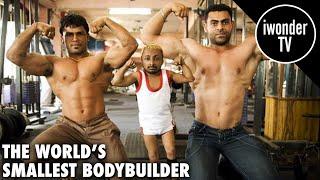 World's Smallest Bodybuilder India's Dwarf Muscleman Aditya Romeo Dev