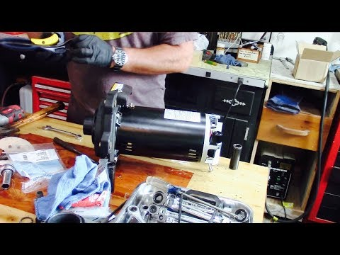 How To Rebuild And Install A Pool Pump Motor
