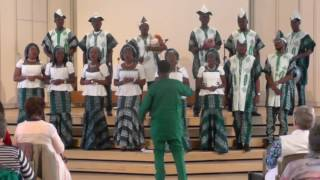 Lagos City Corales (Nigeria): Atula Egwu, MUSICA SACRA INTERNATIONAL 2016