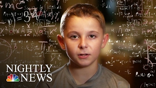 At age nine, Jaxon Cota was accepted into Mensa, a society for geniuses. His IQ puts him in the top two percent of the world, but despite his smarts, Jaxon isn't rushing ahead. » Subscribe to NBC News: http://nbcnews.to/SubscribeToNBC » Watch more NBC video: http://bit.ly/MoreNBCNews  NBC News is a leading source of global news and information. Here you will find clips from NBC Nightly News, Meet The Press, and our original series Debunker, Flashback, Nerdwatch, and Show Me. Subscribe to our channel for news stories, technology, politics, health, entertainment, science, business, and exclusive NBC investigations.  Connect with NBC News Online! Visit NBCNews.Com: http://nbcnews.to/ReadNBC Find NBC News on Facebook: http://nbcnews.to/LikeNBC Follow NBC News on Twitter: http://nbcnews.to/FollowNBC Follow NBC News on Google+: http://nbcnews.to/PlusNBC Follow NBC News on Instagram: http://nbcnews.to/InstaNBC Follow NBC News on Pinterest: http://nbcnews.to/PinNBC  Inside The Mind Of Jaxon Cota An 11-Year-Old Kid Genius | NBC Nightly News