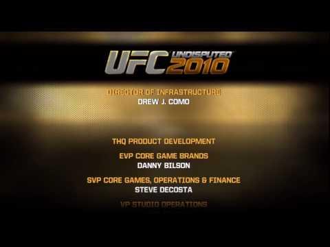 UFC 2010 Credits in HD