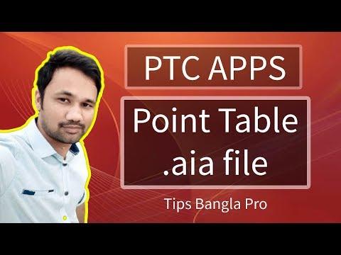 Point table .aia file appybuilder/thunkable bangla Tutorial