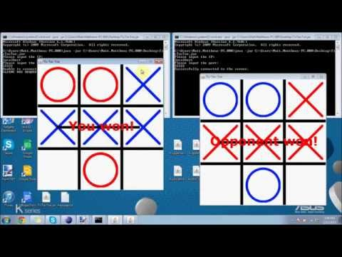 Make A Networked Tic-Tac-Toe in Java