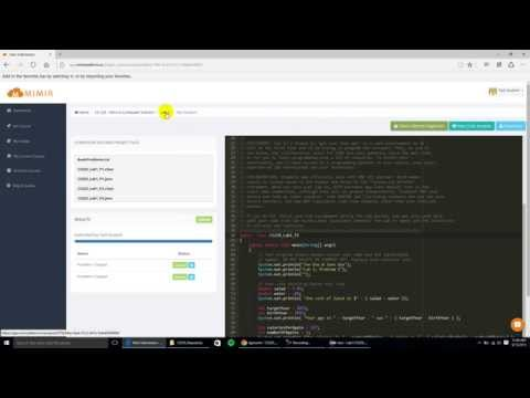Using Skeleton Files, Creating Project and Packaging Files to Submit to Mimir Platform