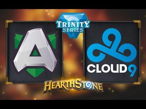 Hearthstone - Alliance vs. Cloud9 - Hearthstone Trinity Series - Day 11