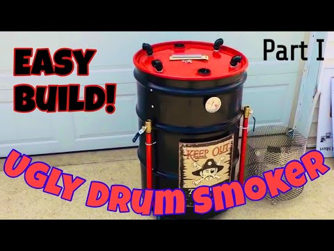 How to Build an Ugly Drum Smoker, also known as a UDS
