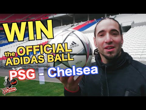 WIN the official ball of PSG Chelsea/ @seanfreestyle