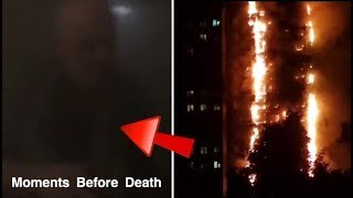 CHILLING Video From INSIDE Grenfell Tower DURING THE FIRE