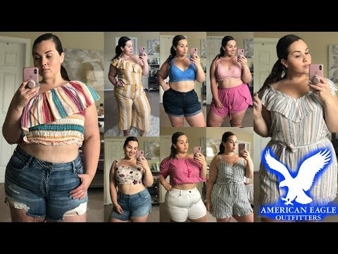American Eagle Summer 2018 Try-On HAUL ☀️