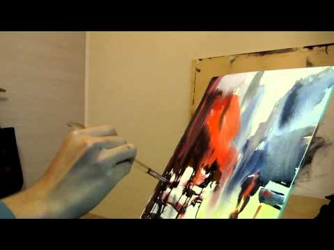 Learning from Alvaro Castagnet Watercolor Painting
