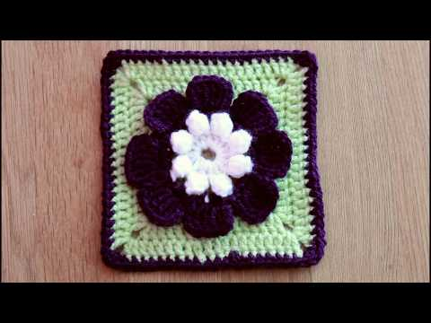 Granny Square #8 - Flower Granny