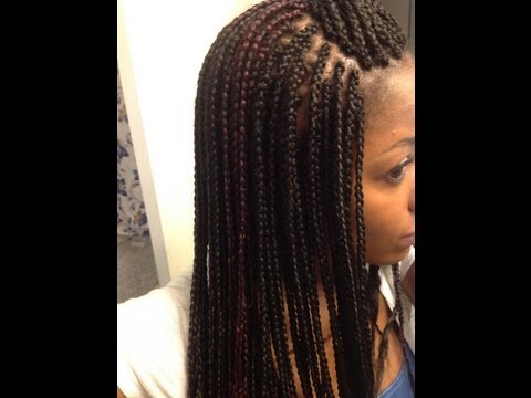 How to Straighten Braids with Hot Water