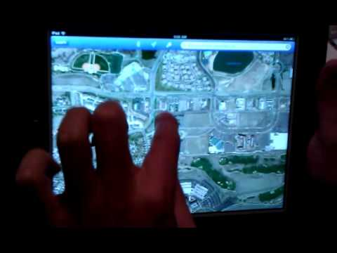 How To Use Google Earth on iPad