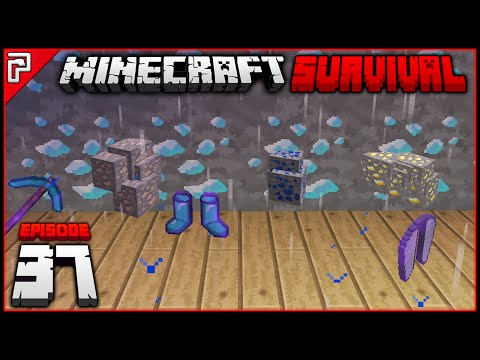 End Cities & Diamonds! | Minecraft 1.10 PC | Python Plays Minecraft Survival [S2 - #37]