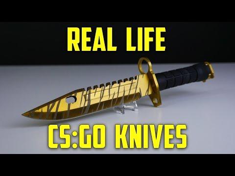 cs go knives in real life m9 bayonet elemental knives part 2
