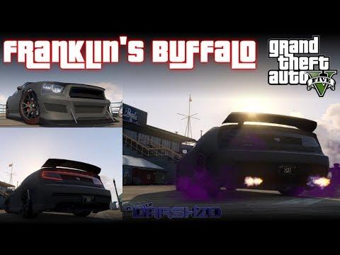 GTA 5 ONLINE - How to get Franklin's Car for FREE (BRAVADO BUFFALO) (GTA 5 Multiplayer Gameplay)