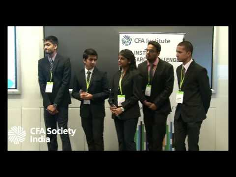 06 CFA Institute Research Challenge 2016-17 (West Zone Finals) @SIBMPune @PicturesPVR