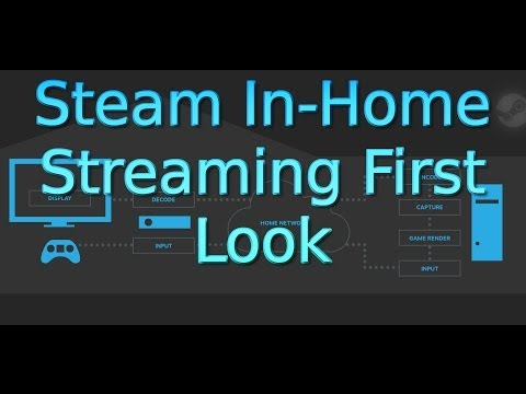 Steam In Home Streaming First Look (Beta)