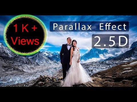 Parallax Photo Effect 2.5D | Photoshop CC