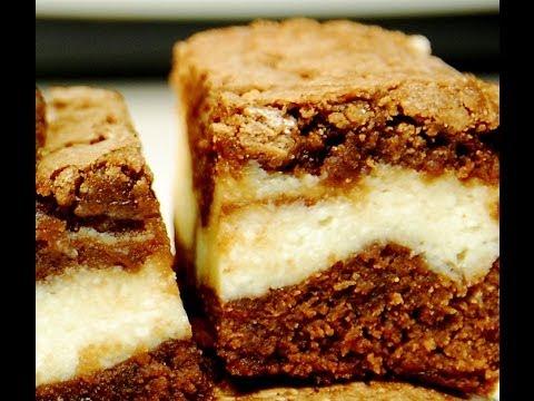KILLER : Cream Cheese Marble Brownies