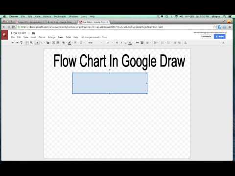 Flow Charts with Google Draw