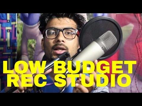 Very Low Budget Home Recording Studio for Persnal Use in HINDI | GURU BHAI RAPPER | HOWTORAP