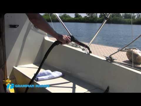Episode 11 Steam Cleaning a Fiberglass Boat