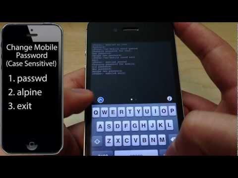 How To Secure Jailbroken iPhone | Change Root SSH Password