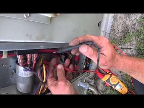 HVAC Service: No Cooling, Blank Thermostat Trane YCC