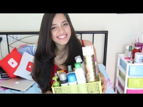 My Hair Care Products | Debasree Banerjee