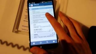 Hands-on with the Samsung Galaxy S4 at the Unpacked event - YouTube