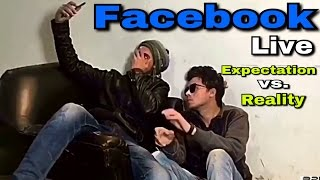 FACEBOOK LIVE | EXPECTATION VS REALITY | ROUND2HELL | R2H